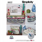 8822 Simplicity Pattern: Sewing Accessories